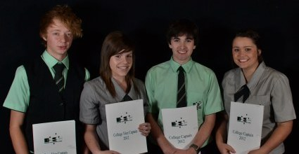 College captains for 2012